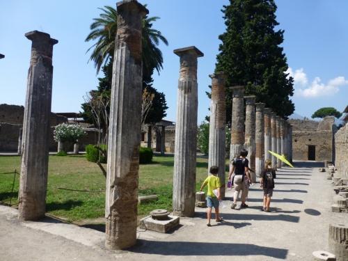 Pompeii walking
